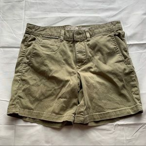 Anthropologie Olive Green Chinos